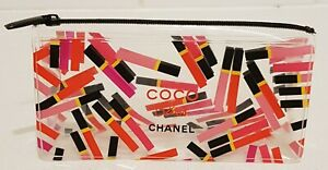 CHANEL MAKEUP BAG POUCH ROUGE COCO GLOSS