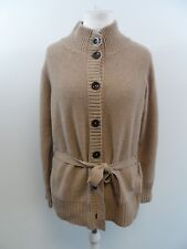 Pure Collection Camel Belted Cardigan Ladies Size 18 Box42 05 B