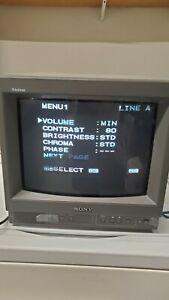 "Sony PVM-14N5U 14"" Color Video Monitor Arcade Game"