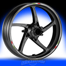 Adesivi moto YAMAHA MT-09 - RACING 5 - stickers cerchi ruote wheels strisce