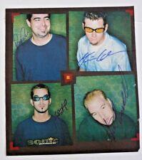 Smashmouth All 4 Band Signed Autograph Magazine Page Photo Psa Bas Guaranteed F6