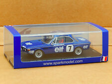 1/43 BMW CSL Elf Beaumont #7 France Production 1976 Spark Resin Model SF038