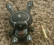 Kidrobot Dunny Target Vinyl Figure with Bullet Accessory - 2009 Series