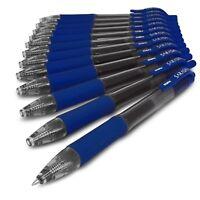 Zebra Sarasa - 0.7mm Retractable Gel Ink Rollerball Pen - Set of 12 - Blue Ink