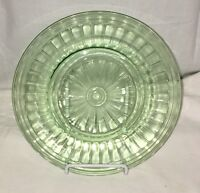 "Hazel Atlas NEW CENTURY GREEN* 8 1/2"" SALAD PLATE*"