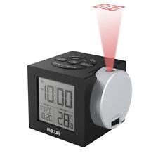 Baldr B0212 Projection Digital Alarm Clock Projector Time 7 Color Back-lights