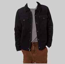 $345 Levi's Men's Black Soft Shell Sherpa Jacket Winter Coat Jacket Size Large