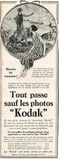 ▬► PUBLICITE ADVERTISING AD KODAK appareil photo photographique 1926
