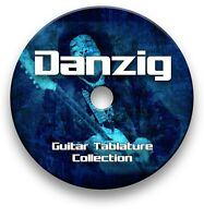 DANZIG ROCK GUITAR TABS TABLATURE SONG BOOK TUITION SOFTWARE CD