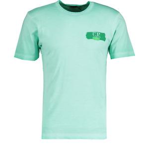 CP Company 20 Mint Green Re-Colour Paint Stroke T-Shirt