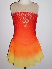 Custom Made To Fit Figure Skating /Baton Twirling Costume