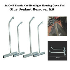 4xCold Plastic Car Truck Headlight Housing Open Cover Glue Sealant Remover Kits