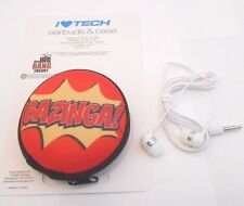 BIG BANG THEORY BAZINA! EAR BUDS WITH STORAGE CASE