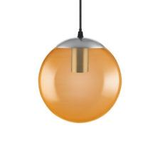 Osram 1906 Range Decorative Large Bubble E27 Pendant Fitting - Orange Glass