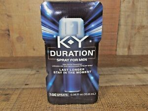 K-Y Duration Spray for Men Last Long 100 Sprays Enhance Sexual Performance