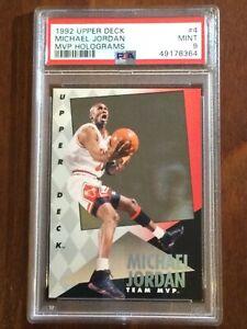 1992 Upper Deck — Michael Jordan — MVP Holograms — MINT PSA 9 — pop 269 (all)