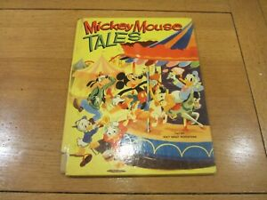 MICKEY MOUSE TALES BOOK / Annual - Date 1953 - Dean & Sons Book