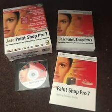 Jasc Software Paint Shop Pro 7 PC CD Software Windows Graphics Photo Editor 2000