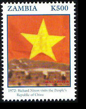 Zambia MNH, Millennium 2000, Nixon visits China 1972  -NM3