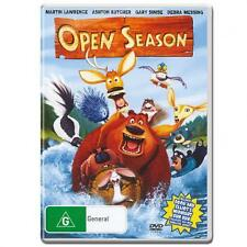 OPEN SEASON - BRAND NEW & SEALED DVD (R4) VOICE OF ASHTON KUTCHER, DEBRA MESSING