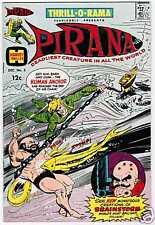 Thrill-O-Rama #3. Pirana. 1966. Vg(4) to F(6) condition