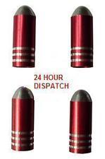 Red Bullet Valve Dust Caps Mazda Mx3 Mx4 Mx5 Rx7 3 6