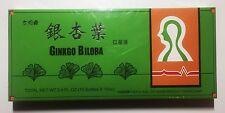 3x Ginkgo Bilob Estratto Orale Liquido 10 Fiale Sanjing 40mg Taiji Ekong