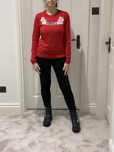 Temperley London Red goddess Wool Jumper/small/NWT/£185/Current