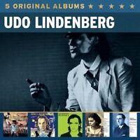 UDO LINDENBERG - 5 ORIGINAL ALBUMS 5 CD NEU