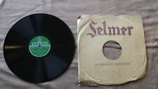 Record 78 RPM LOUIS ARMSTRONG Odeon 165 844 Some of these days / When You're