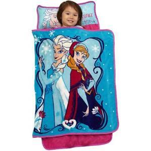 Nap Mats For Preschool Girl Sleeping Bag Toddler Disny Frozen Elsa Blanket Kids