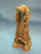 Dog. Paperweight. Vintage Collectible Bronze Statuette Figurine. Russia