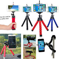 Mobile Tripod Cell Phone Cam Gorilla Octopus Mount Stand For Apple iPhone XR MAX