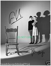 Bates Motel tv show cast signed reprint photo Vera Farmiga & Freddie Highmore #4