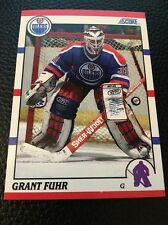 Grant Fuhr  Oilers 1990-1991 Score #275