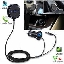 Bluetooth Wireless Music Receiver 3.5mm Adapter Handsfree Car AUX Speaker Kit