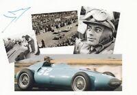 Hernando da Silva Ramos (FRA) Formel 1 Driver 1955 original signiert/signed !!
