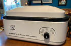 Nesco 18 Quart Roaster Oven White Tested Really Clean Made In USA 4208 photo