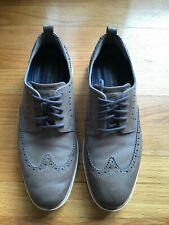 Cole Hahn Men's Shoes Grand Evolution Wingtip Oxford -Ironstone Leather Size 10M