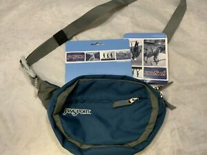 Jansport Unisex Teal Athletic Waist Pouch NWT