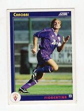 figurina card - CALCIATORI CARD SCORE 1993  - n. 94 FIORENTINA CAROBBI