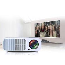 Full HD 3D Projector LED Home Cinema HDMI VGA USB 3000 Lumens built-in Speakers