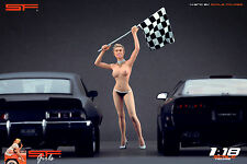 1/18 Naked finish girl figurine VERY RARE !! for1:18 CMC Autoart Ferrari BBR