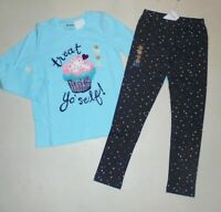 Gymboree Girls Cupcake Tee Leggings 4 4T NWT
