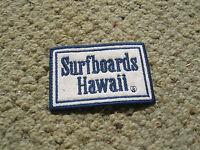 Vintage surboards Hawaii surfing surfboard jacket patch 1960s longboard mint ya