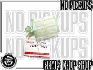 Fuel Pump Filter Corolla MR2 Supra Celica Genuine NOS Parts - C8 Remis Chop Shop