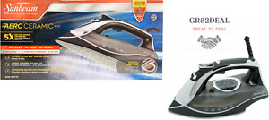 Sunbeam GCSBDS-20 AERO Ceramic Soleplate Iron Dimpling and Channeling Technology