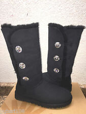 UGG EXCLUSIVE BAILEY BUTTON BLING TRIPLET BLACK BOOT sz US 5 / EU 36 / UK 3.5