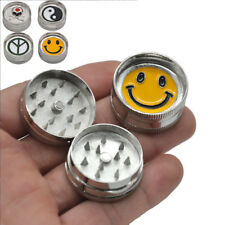 1 X MINI 2 Part 30MM Zinc Alloy Herb/spice/tobacco Grinder Crusher