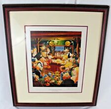 Carl Barks The Goose Egg Nugget Signed Limited Edition Miniature Lithograph LE